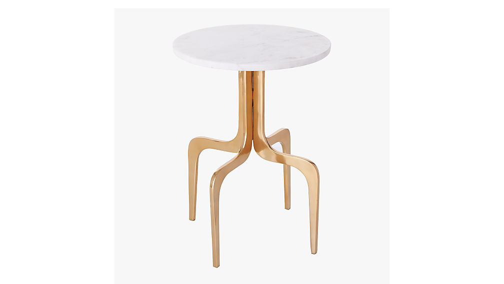 dorset marble side table