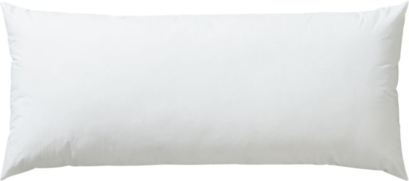 "down alternative 36""x16"" pillow insert"