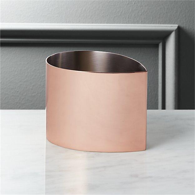 drop copper bowl
