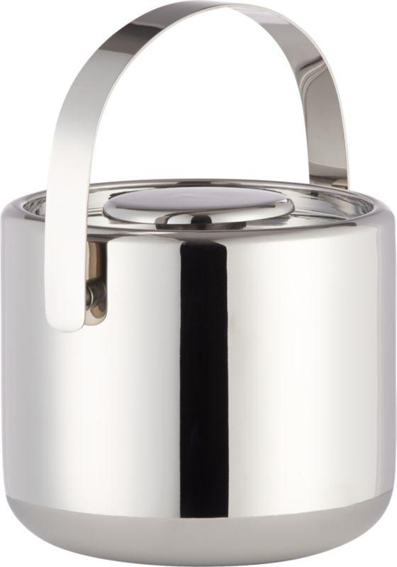 duke stainless steel ice bucket
