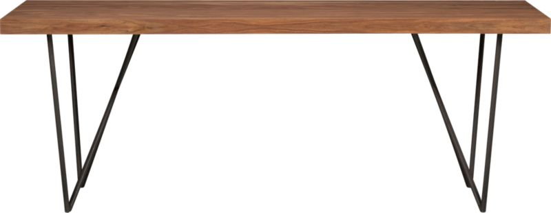 """dylan 36""""x80"""" dining table"""