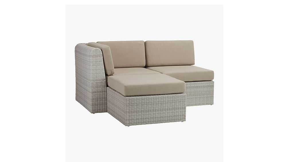 ebb armless chair