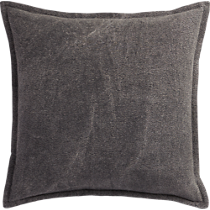 "eclipse charcoal 20"" pillow"