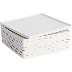 edge dinner plates set of eight
