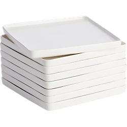 edge salad plates set of eight