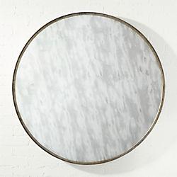 """elon 40"""" round wall mirror"""