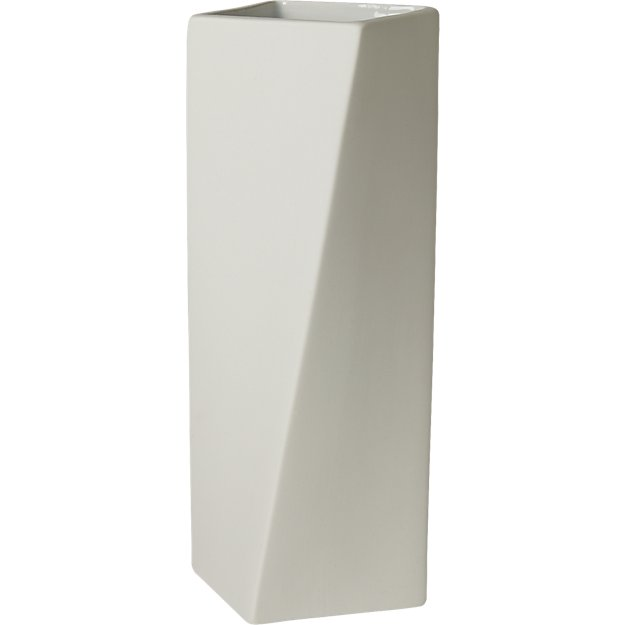empire white vase