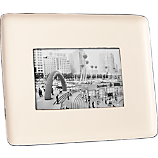 enamel ivory 4x6 picture frame