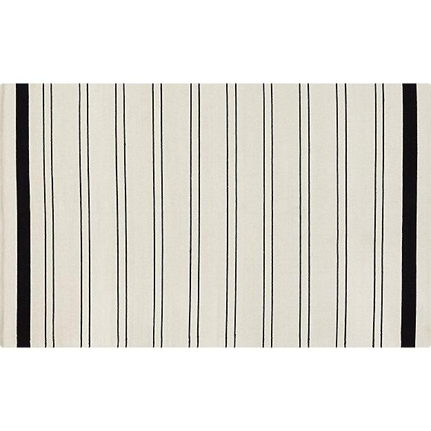 end line rug 5'x8'