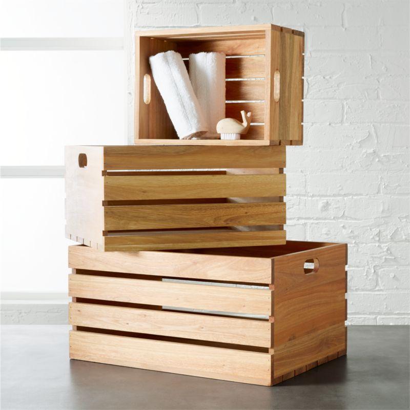 eucalyptus storage boxes
