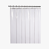 peva clear shower curtain liner