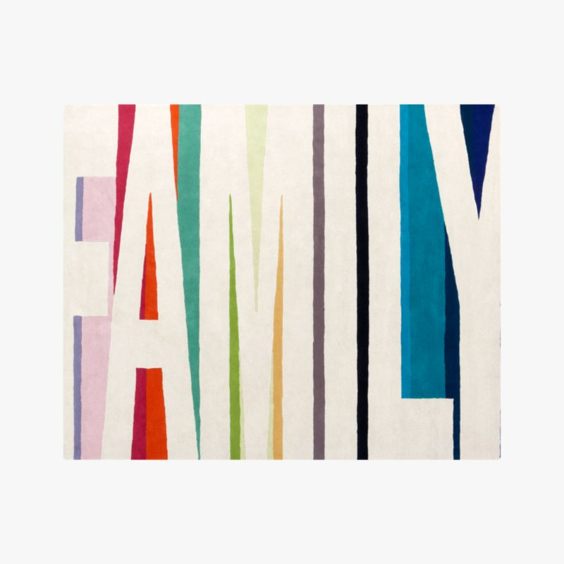 family color rug 8'x10'