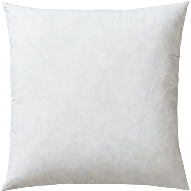 feather square pillow insert