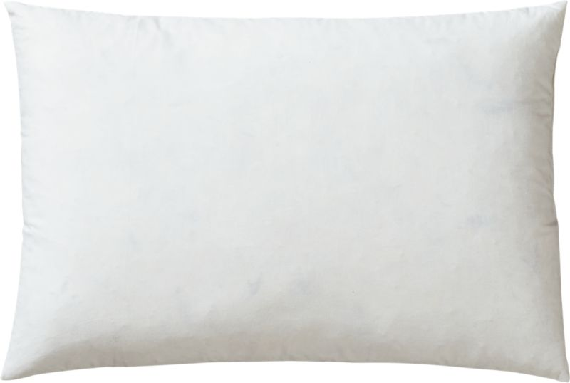 "feather-down 18""x12"" pillow insert"