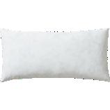 "feather-down 23""x11"" pillow insert"