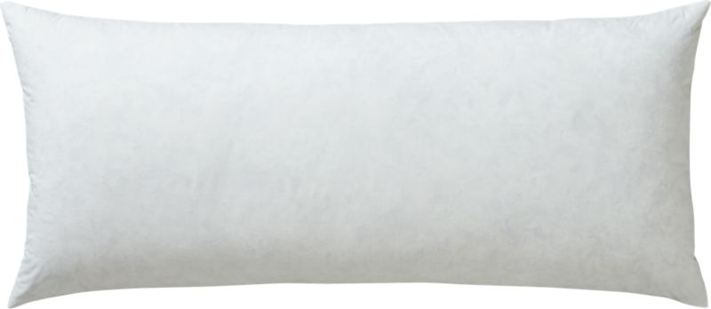 "feather-down 36""x16"" pillow insert"