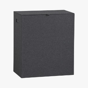 charcoal felt hamper