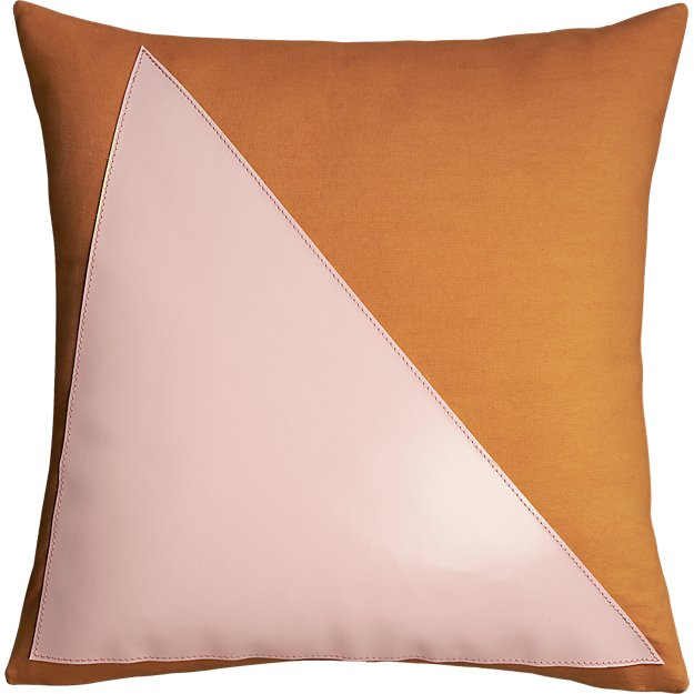 """field days 18"""" pillow"""