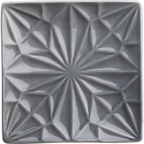 flake gray party-appetizer plate