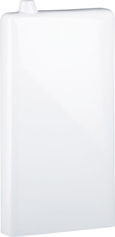 flask white vase