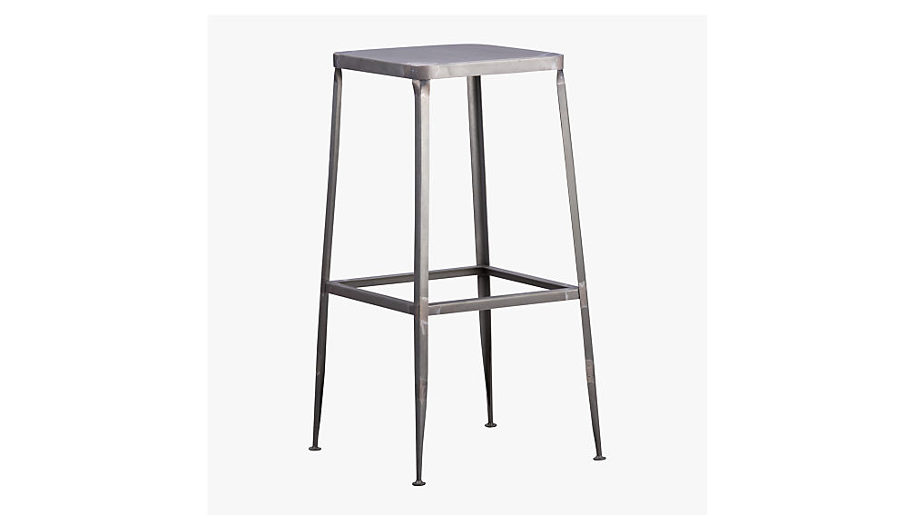 "flint steel 24"" counter stool"