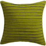 "fold green 16"" pillow"