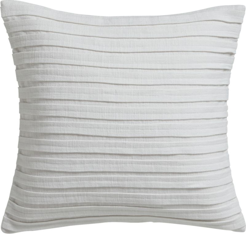 "fold white 16"" pillow"