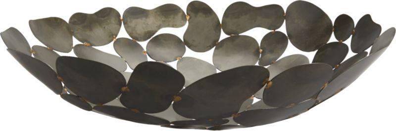 foliage welded bowl