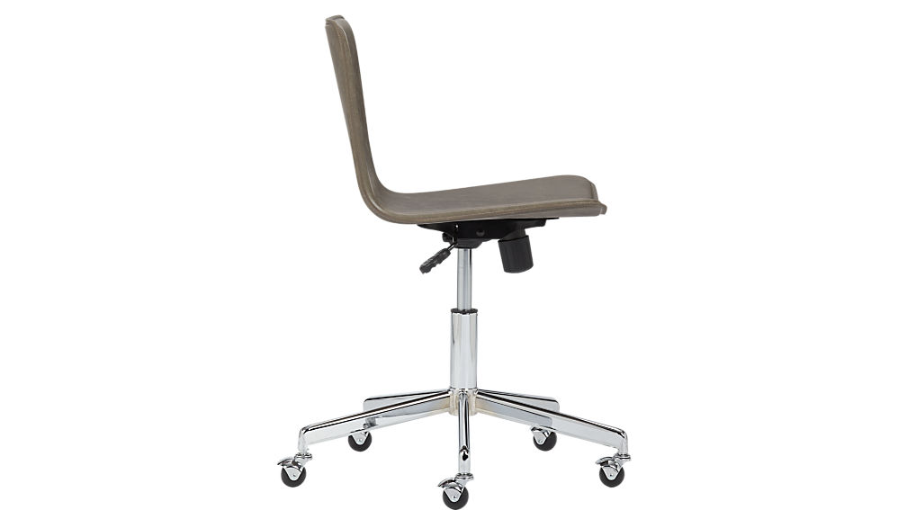 form brown office chair