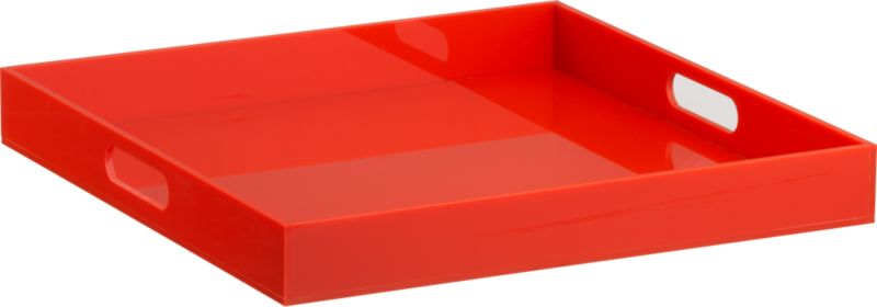 format orange tray