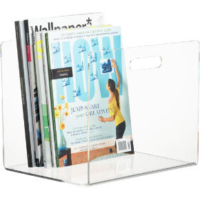 format floor magazine holder shopping in CB2 storage
