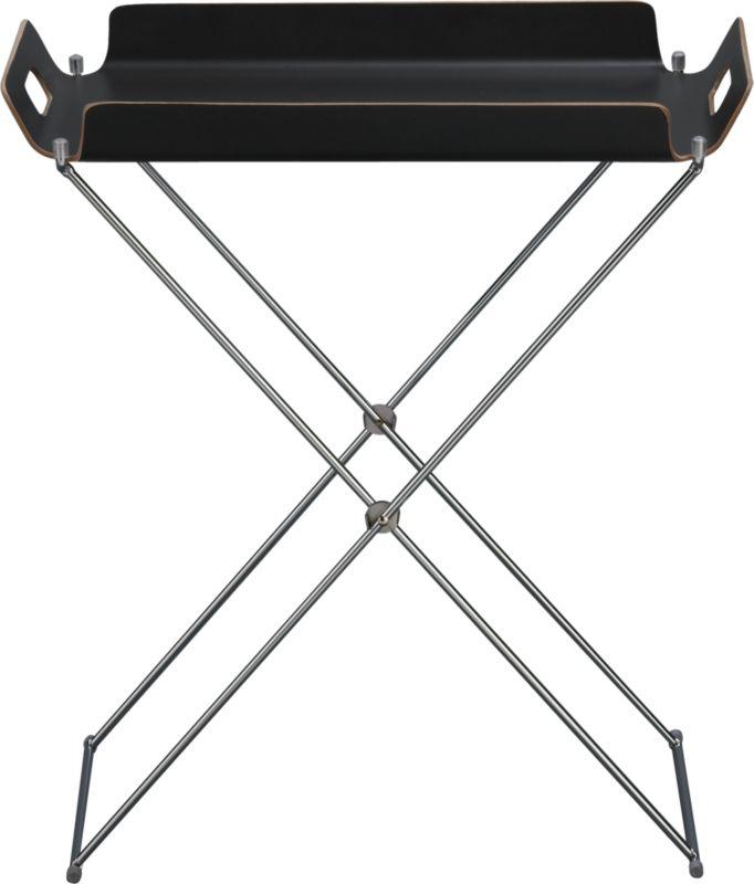 formosa black tray table