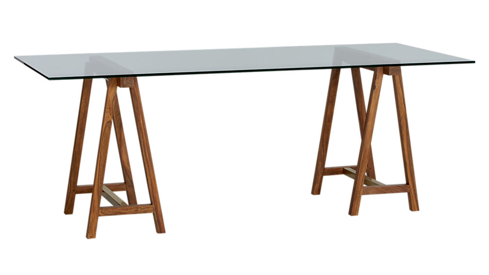 """foundry 80"""" trestle table"""