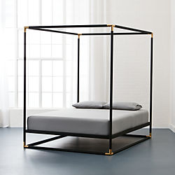 frame canopy bed