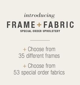Frame+Fabric