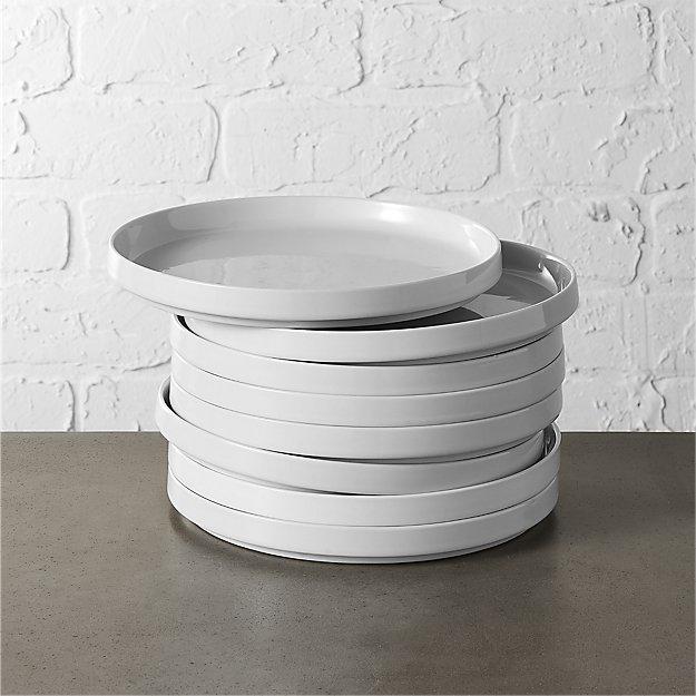 set of 8 frank salad plates