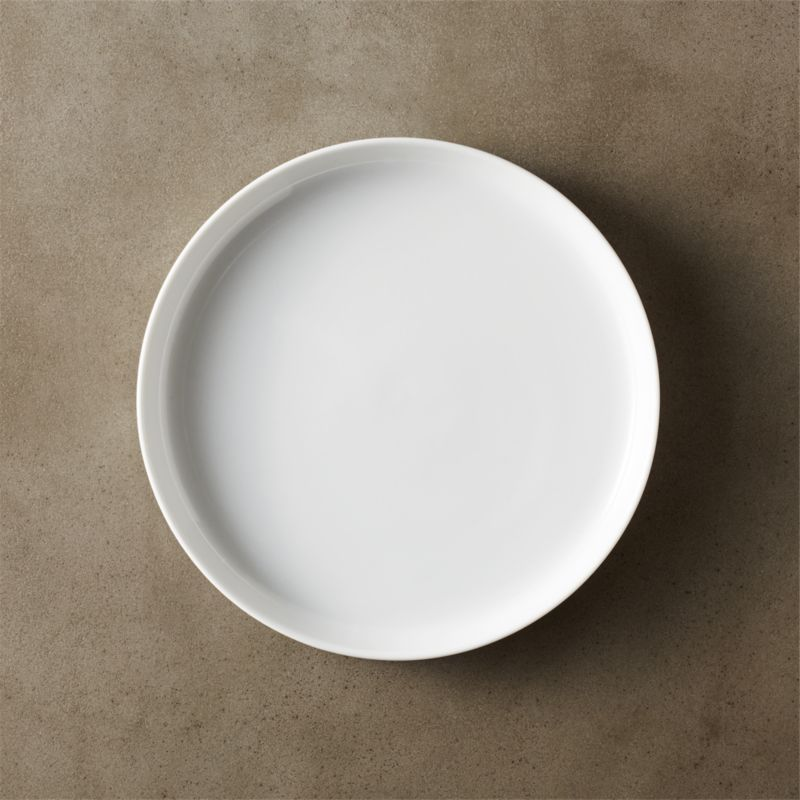 White Kitchen Plates For Registry