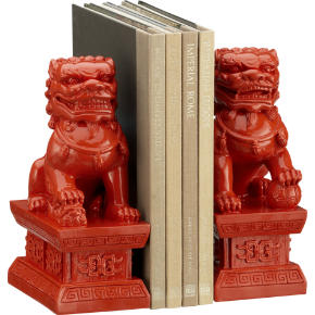fu dog bookends set of two shopping in CB2 top rated decorate