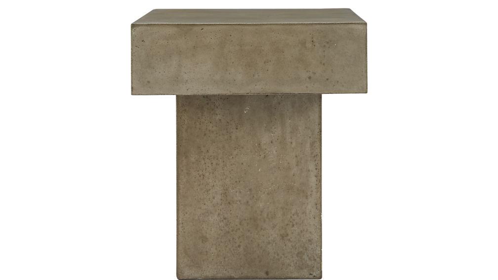 fuze grey bench