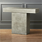 fuze grey console table.