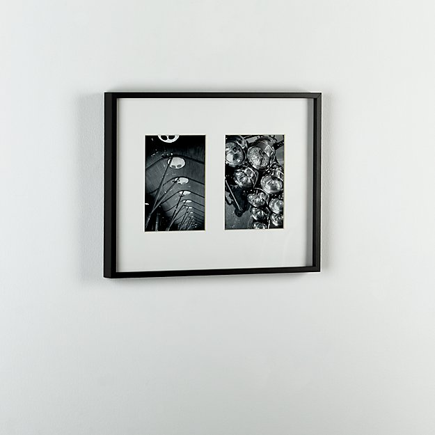 gallery carbon 2 5x7 picture frame