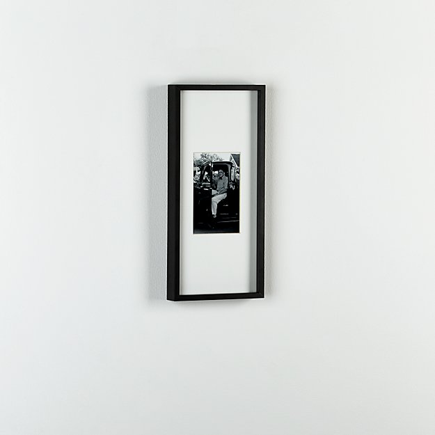 gallery carbon 4x6 picture frame