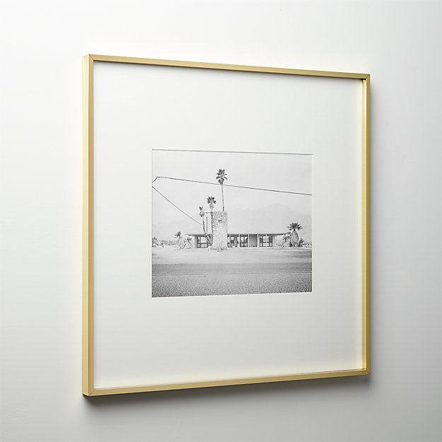 gallery brass 11x14 picture frame
