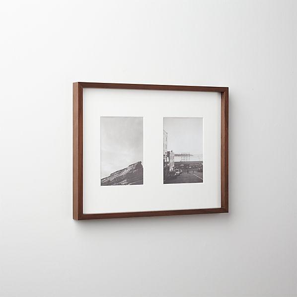 GalleryFrame25x7WalnutF16