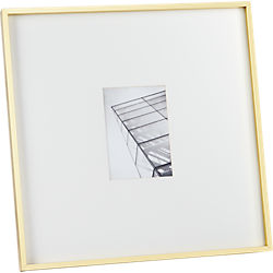gallery brass 5x7 picture frame