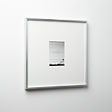 gallery brushed silver 5x7 picture frame