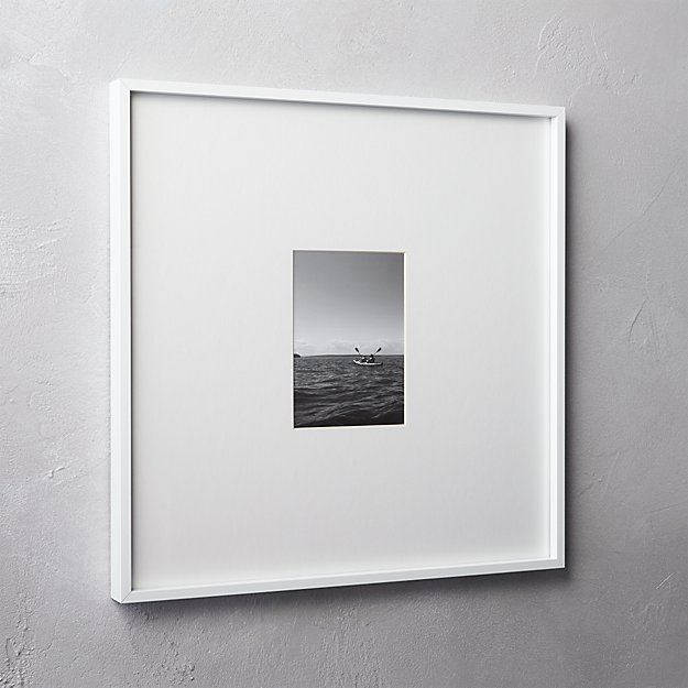 gallery white 5x7 picture frame