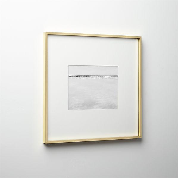 GalleryFrame8X10BrassS16
