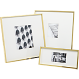 gallery brass picture frames