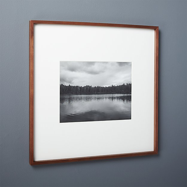 gallery walnut 11x14 picture frame